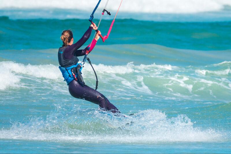 Kitesurfing på Zanzibar