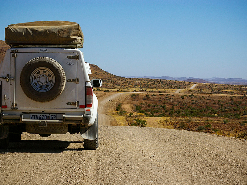 Ekspedition i Namibia