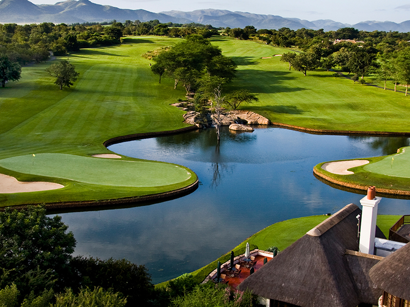 Leopard Creek - Golf, safari og togrejse i Sydafrika