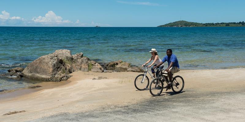 Mountain-biking i Malawi