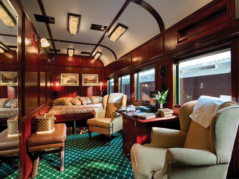 Royal suite - en togrejse fra Pretoria til Cape Town