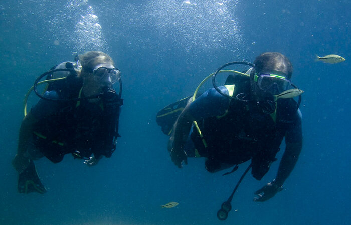 dykning i malawi