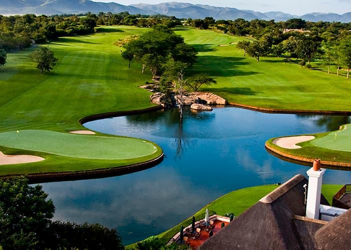 Golf safari og togrejse i Sydafrika