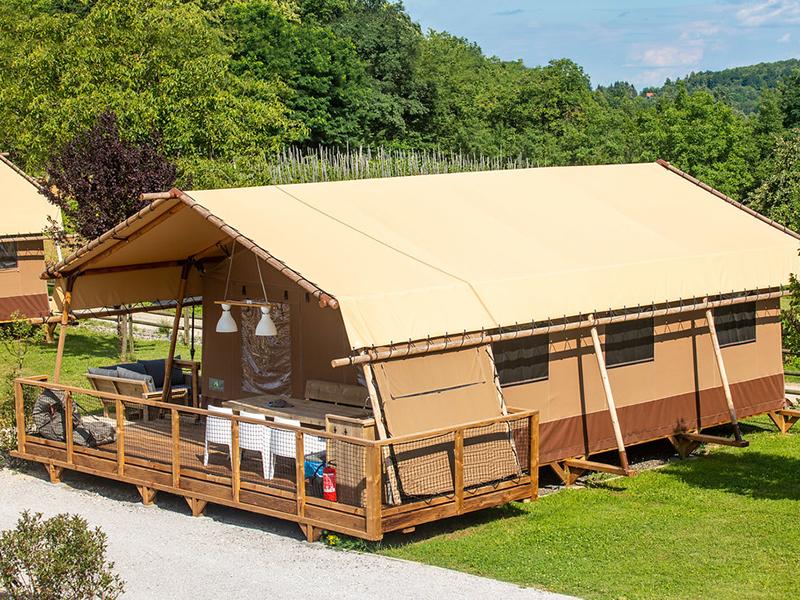 Camping og glamping