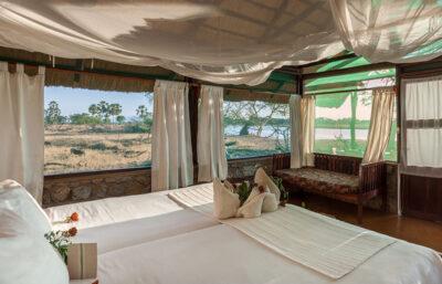 Mvuu Camp indkvartering