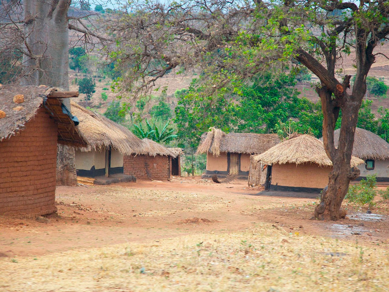 landsby i malawi