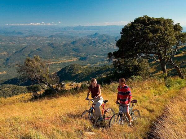 Mountainbike i Malawi
