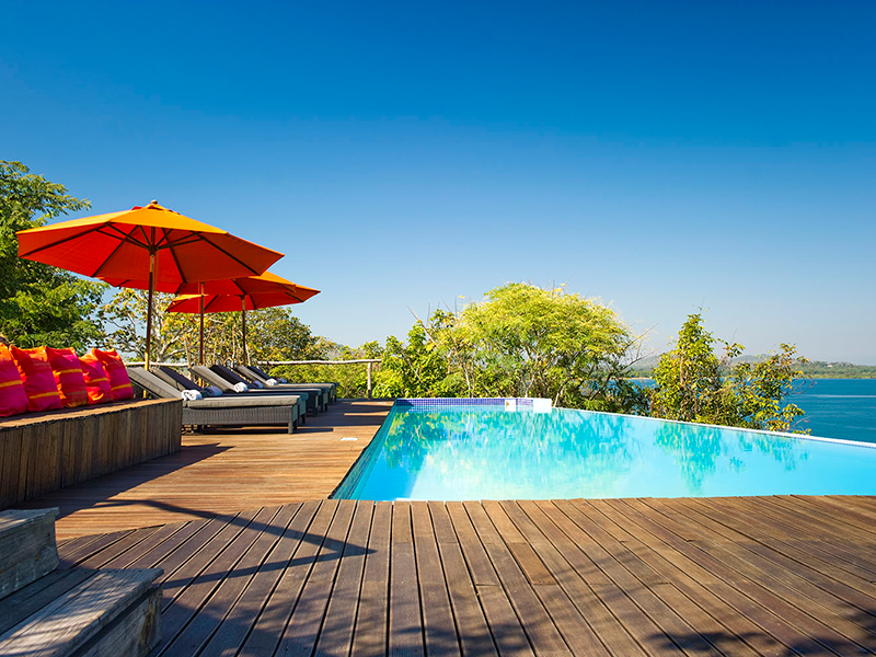Honeymoon - pumulani lodge infinity pool