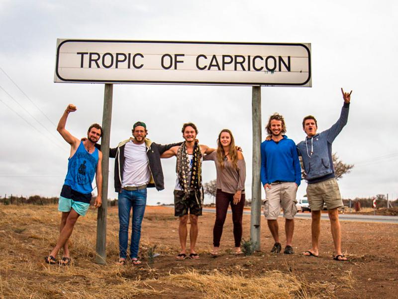 Stenbukkens vendekreds - Sydafrika
