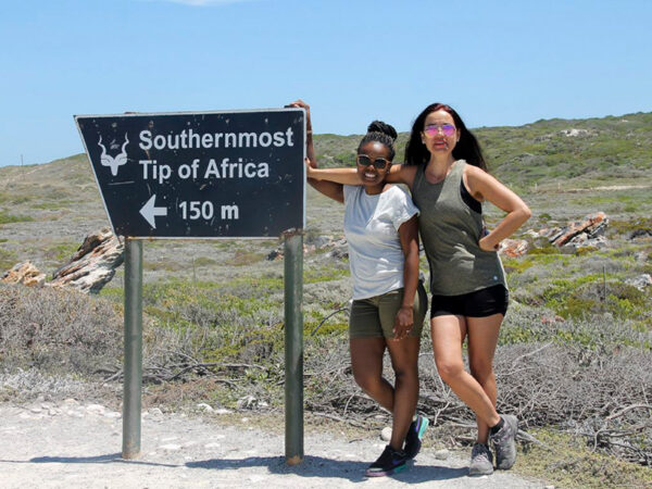 Agulhas nationalpark - sydligste sydafrika
