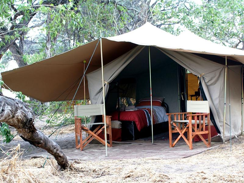 Botswanas højdepunkter - Bedouin Bush Camp