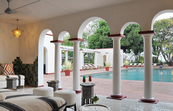 Victoria Falls Hotel Poolområde