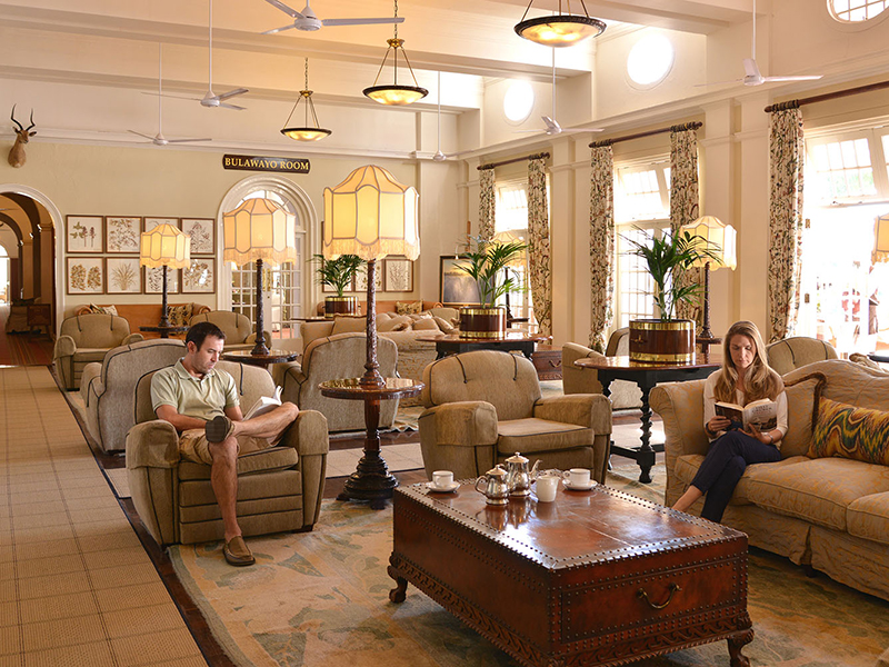 Lounge - Victoria Falls Hotel