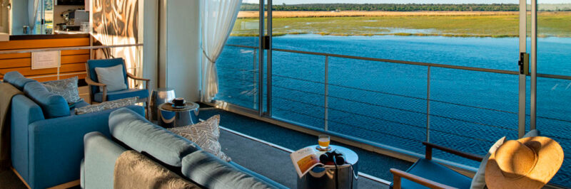Zambezi Queen | Flodkrydstogt & Safari
