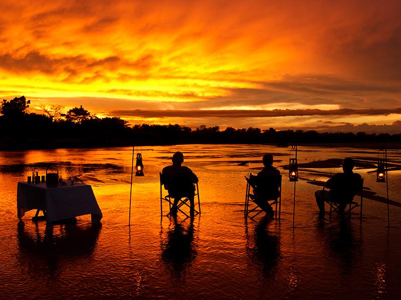 solnedgang zambia