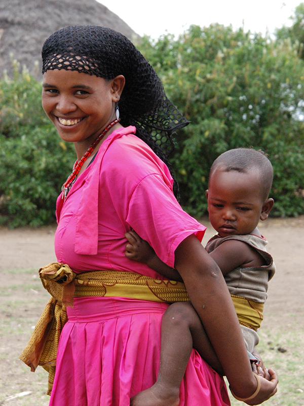 Kultursafari - Alaba-kvinde