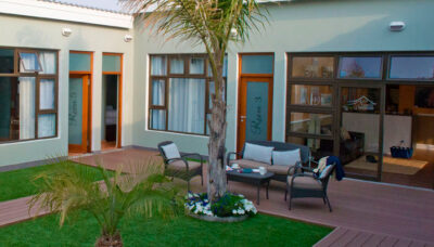 B&B i Swakopmund Namibia Rundt