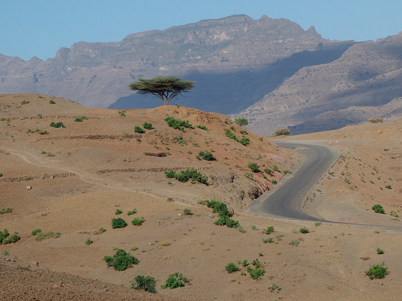 Trekking i Etiopien