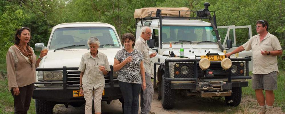 safari Kombiferie Safari og strand