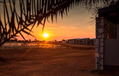 solnedgang Namibia Rundt