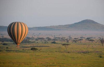 Ballonflyvning over Ruaha