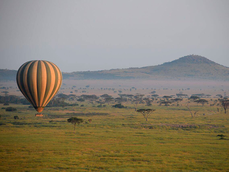 Ballonflyvning over Ruaha