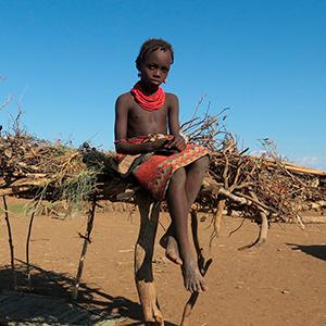 Omo-dalen ETIOPIEN