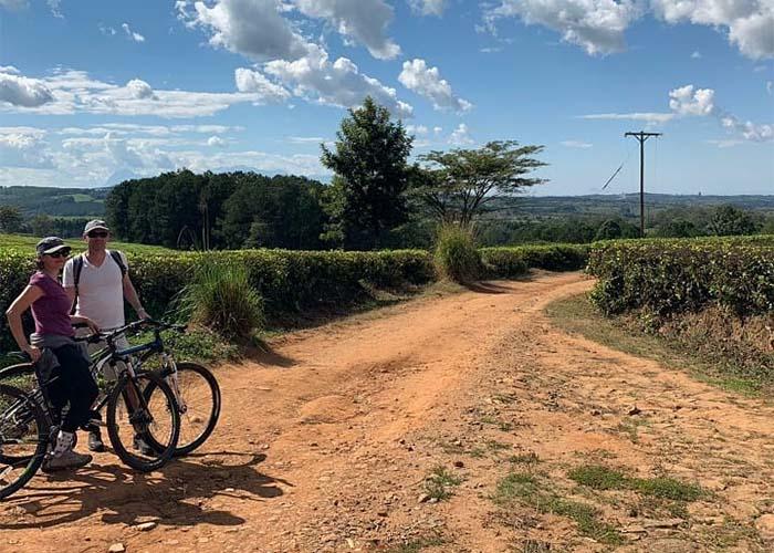 På cykel i Malawi