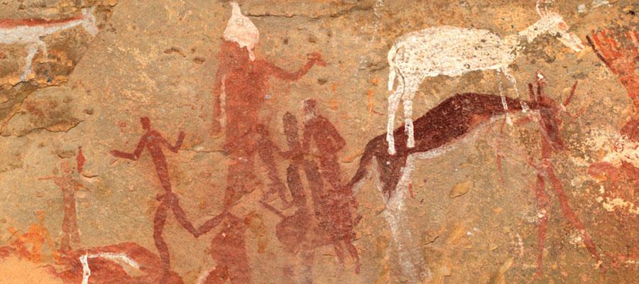 drakenberg klippemaleri