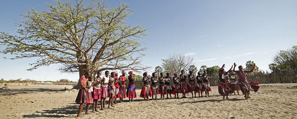 Rejs til Namibia